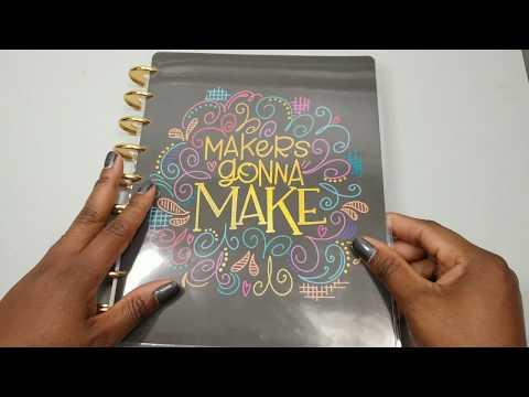 The Happy Planner Girl - Miss Maker Flip Through Classic