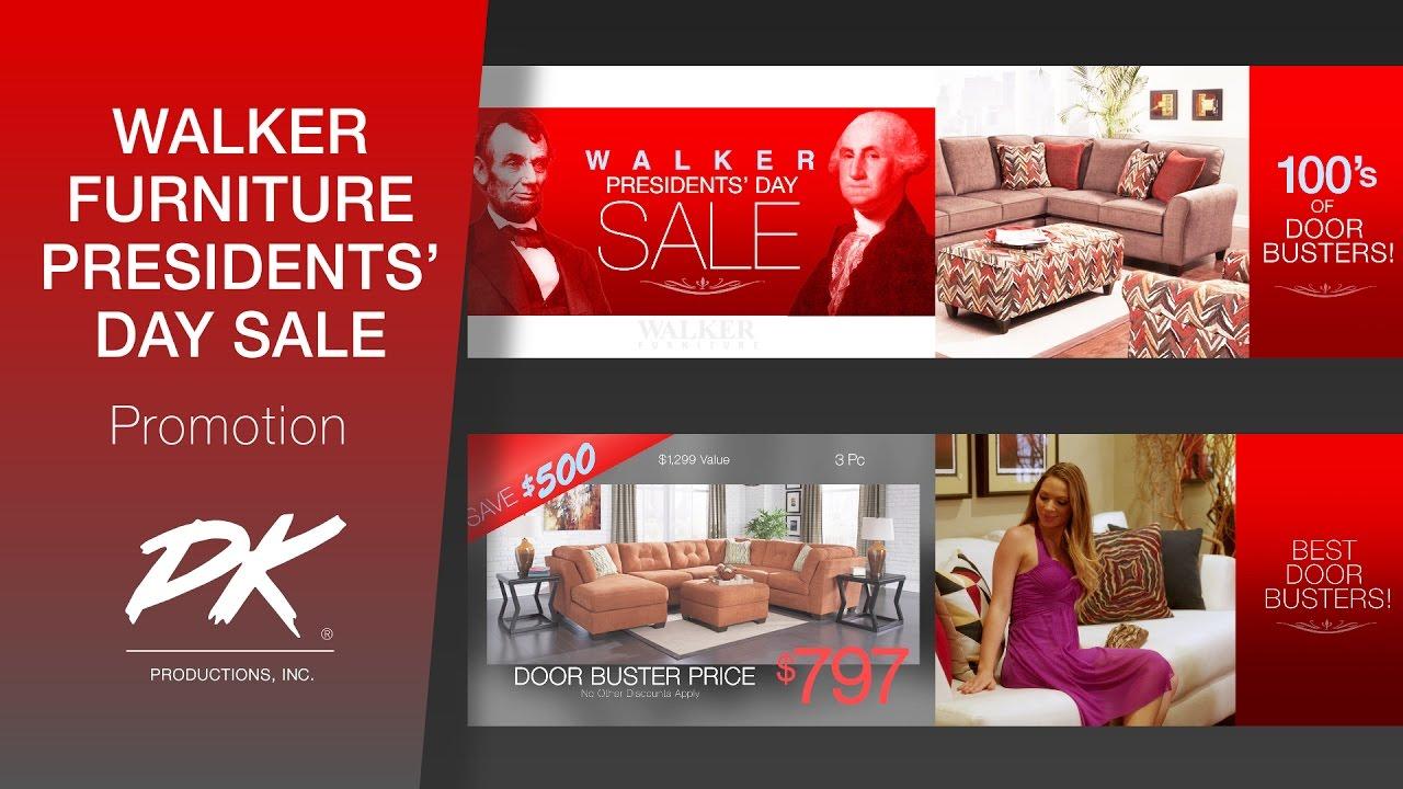Walker furniture presidents day sale