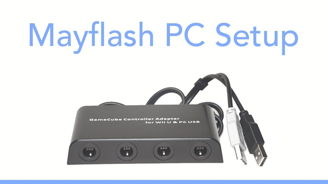 Mayflash GameCube Adapter Setup For Dolphin 5 0 - 2019