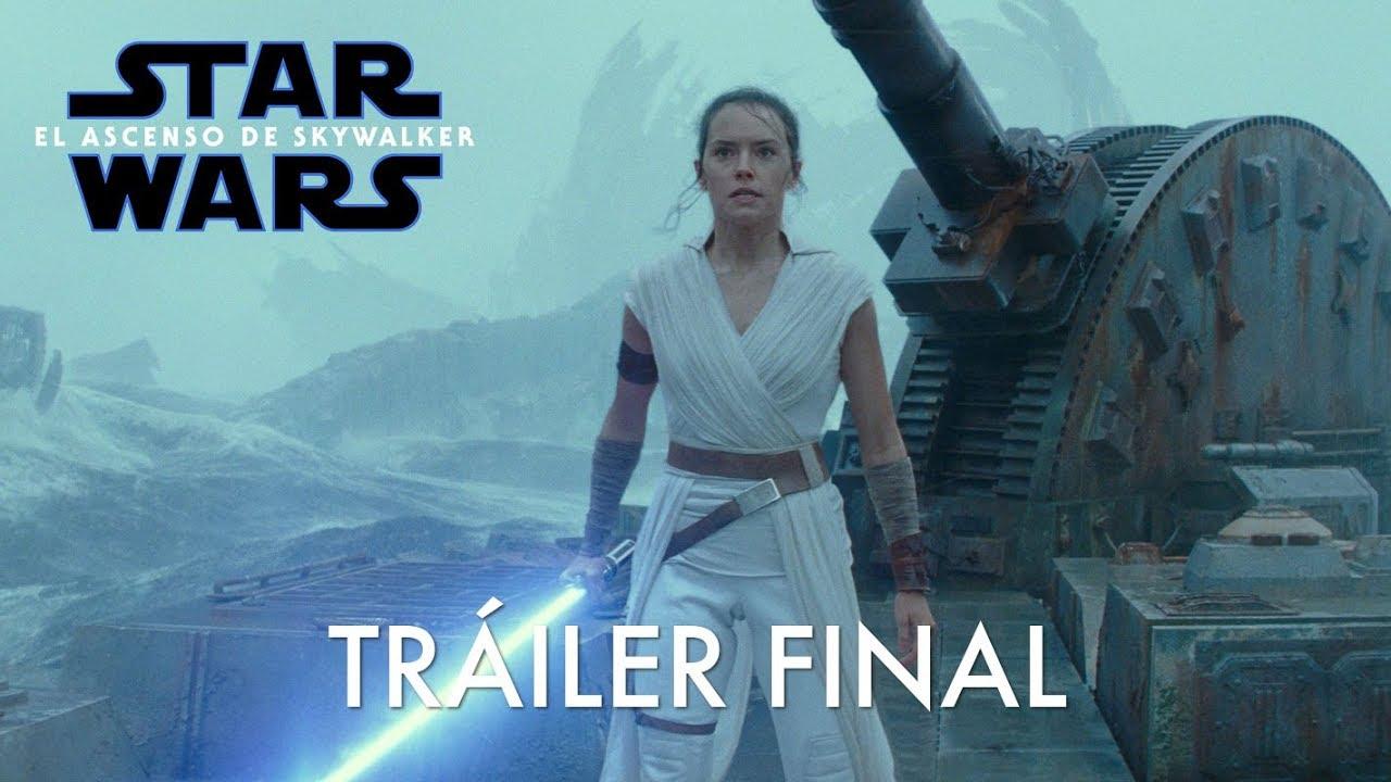 Star Wars El Ascenso De Skywalker Nuevo Tráiler Oficial Subtitulado Youtube