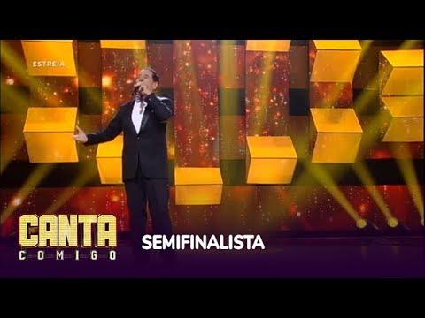 Evandro Moura garante vaga na semifinal com música de Il Volo
