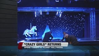 Video 'Crazy Girls' to debut at Planet Hollywood on Wednesday download MP3, 3GP, MP4, WEBM, AVI, FLV Oktober 2017