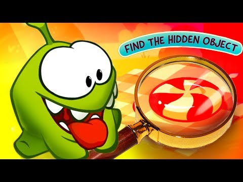 Om nom - Cut the rope - all episodes (1-8) Find The Hidden Object- Kedoo antimations for kids