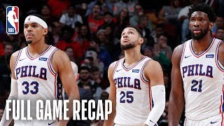 76ERS vs BULLS | Philadelphia Looks For Their 2nd-Straight 50 Win Season | March 12, 2019