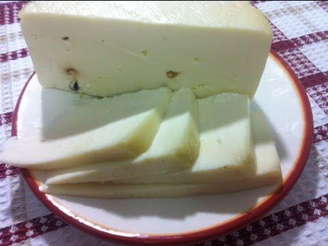 طريقة عمل الجبنه الشيدر البيضاء How To Make White Cheddar Cheese
