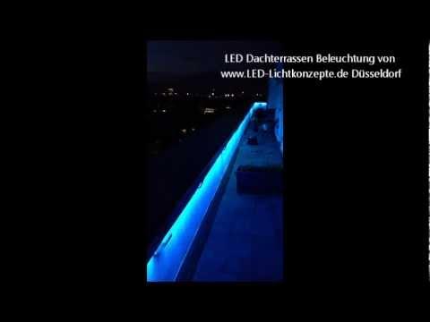 Penthouse Dachterrasse Beleuchtung Luxus Interieur Wellness Lounge ...