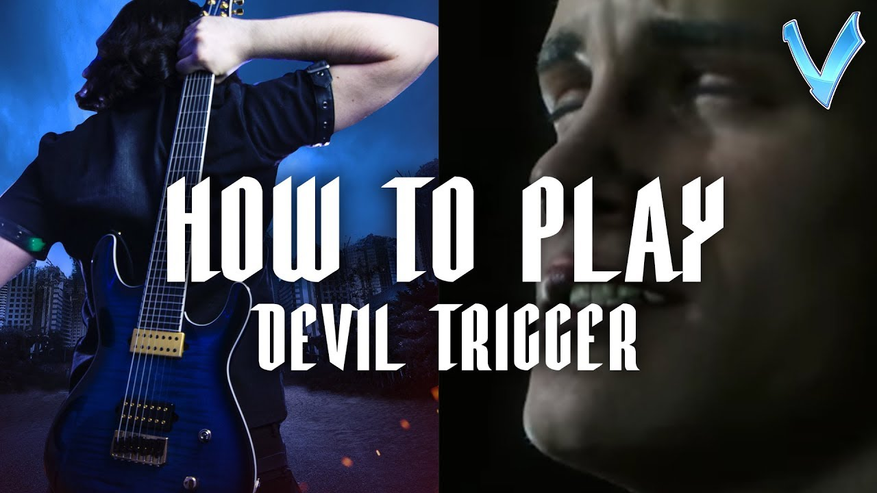 how to play devil inside on guitar