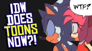 IDW Publishing Bets on ANIMATION to Save Failing Comic Book Company?!