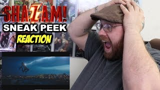 SHAZAM! Sneak Peek - Reaction!!!