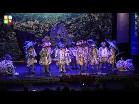 El batallón del mar Comparsa de La Línea Carnaval 2020