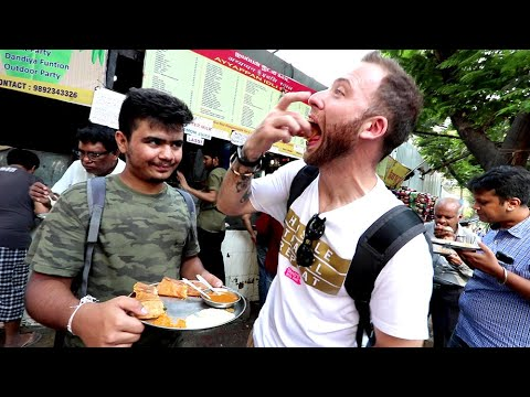 American Reacts to 55 INDIAN STREET FOOD DISHES