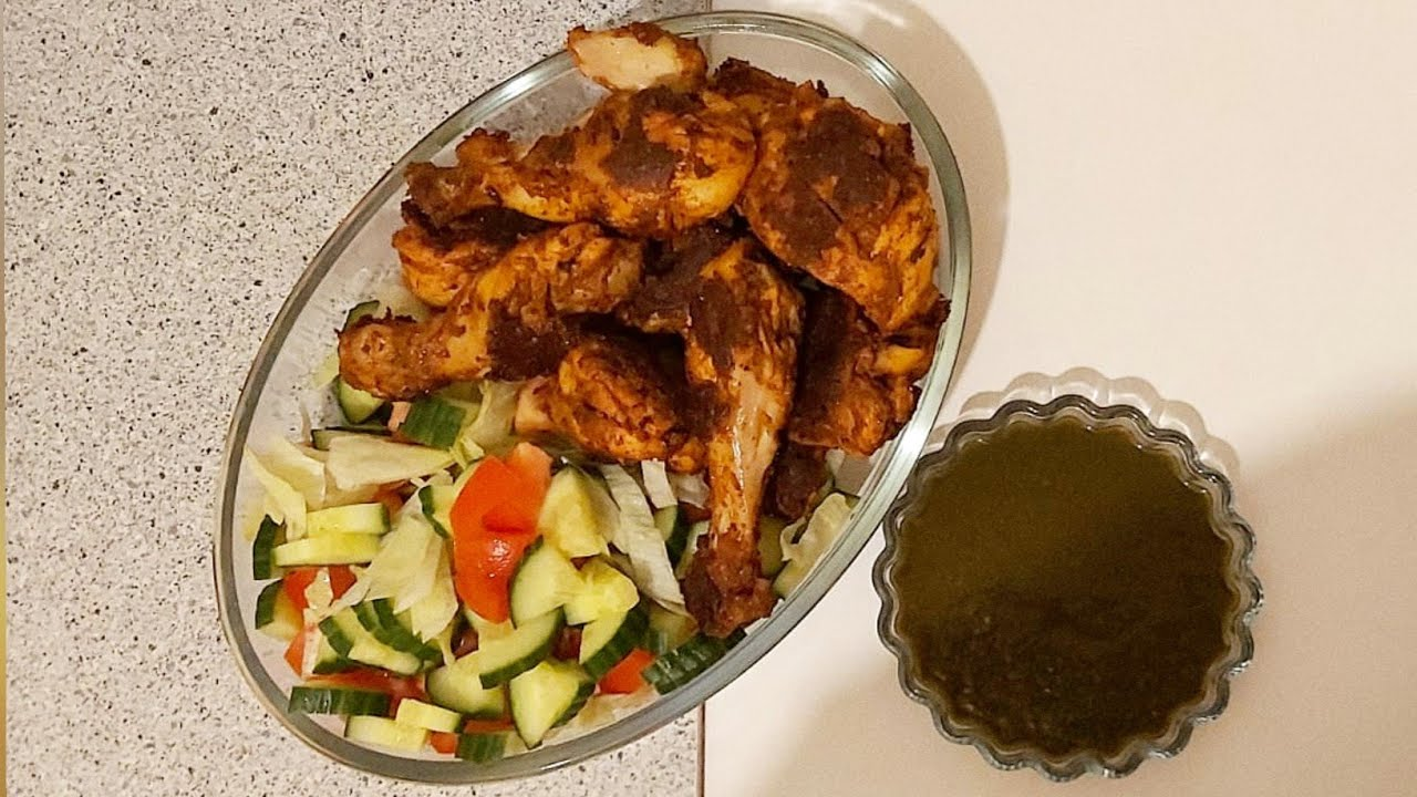 Grill Fried Chicken without Oven | Grilled Chicken | Without Oven Fried Chicken | CHAAT PATAA