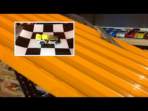"2016 HOT WHEELS SUPER 6 LANE KING OF THE HILL #3 ""The Race"" FINALE"