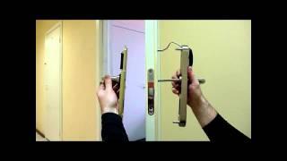 Электромеханический электронный замок накладка EuroLock EHT(Eurolock достаточно установить на обычный механический замок (стандарта DIN), чтобы доступ в ваши двери стал..., 2014-10-20T10:21:10.000Z)