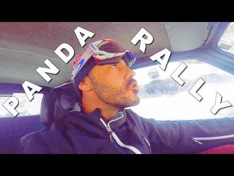 It's snowing in Andorra, FIAT PANDA 4x4 RALLY IS ON ! - CG VLOG #54