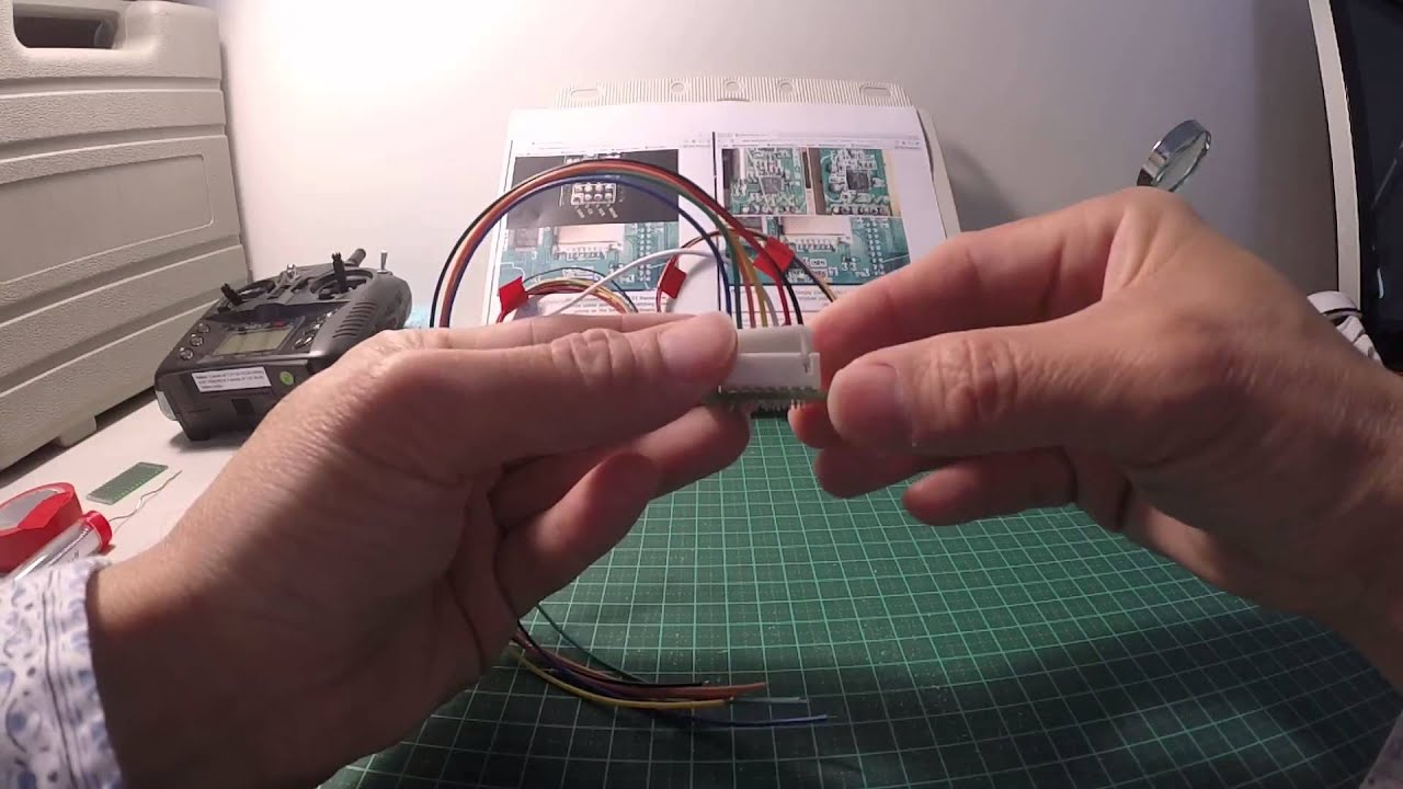 How To Connect Pcb Board Wire Harness Holder Walkera Devo 10 Mod Circuit