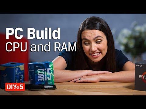 Chọn CPU và Ram