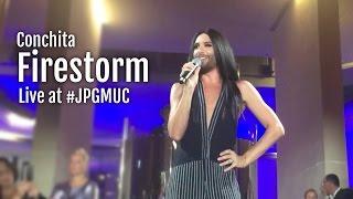 Conchita - Firestorm [live at #JPGMUC in Munich]