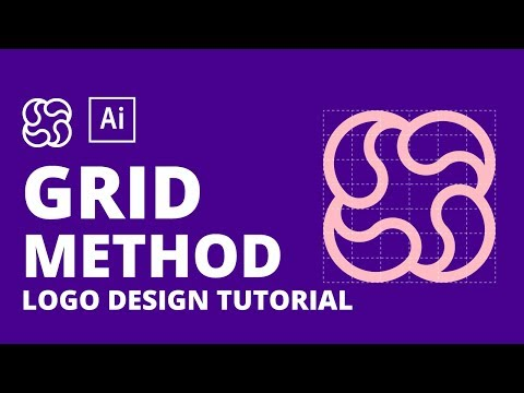 Illustrator Tutorial | How to design logomark thumbnail