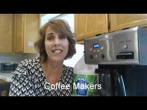 How to Clean Coffee Makers with Vinegar