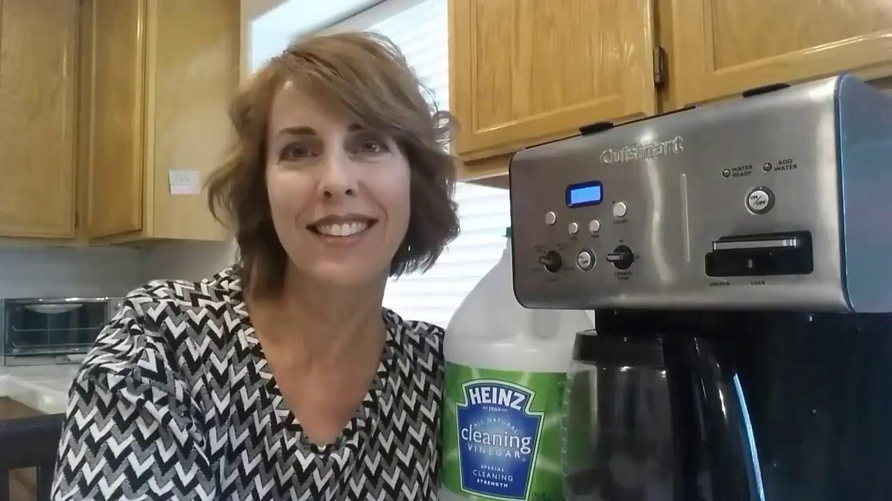 how to clean keurig with vinegar youtube