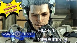 Vanquish (100%) walkthrough Act 1 Mission 3