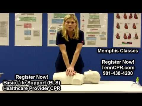 BLS CPR for Memphis Healthcare Providers   Nursing, Medical, Dental BLS Certification