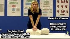 BLS CPR for Memphis Healthcare Providers | Nursing, Medical, Dental BLS Certification