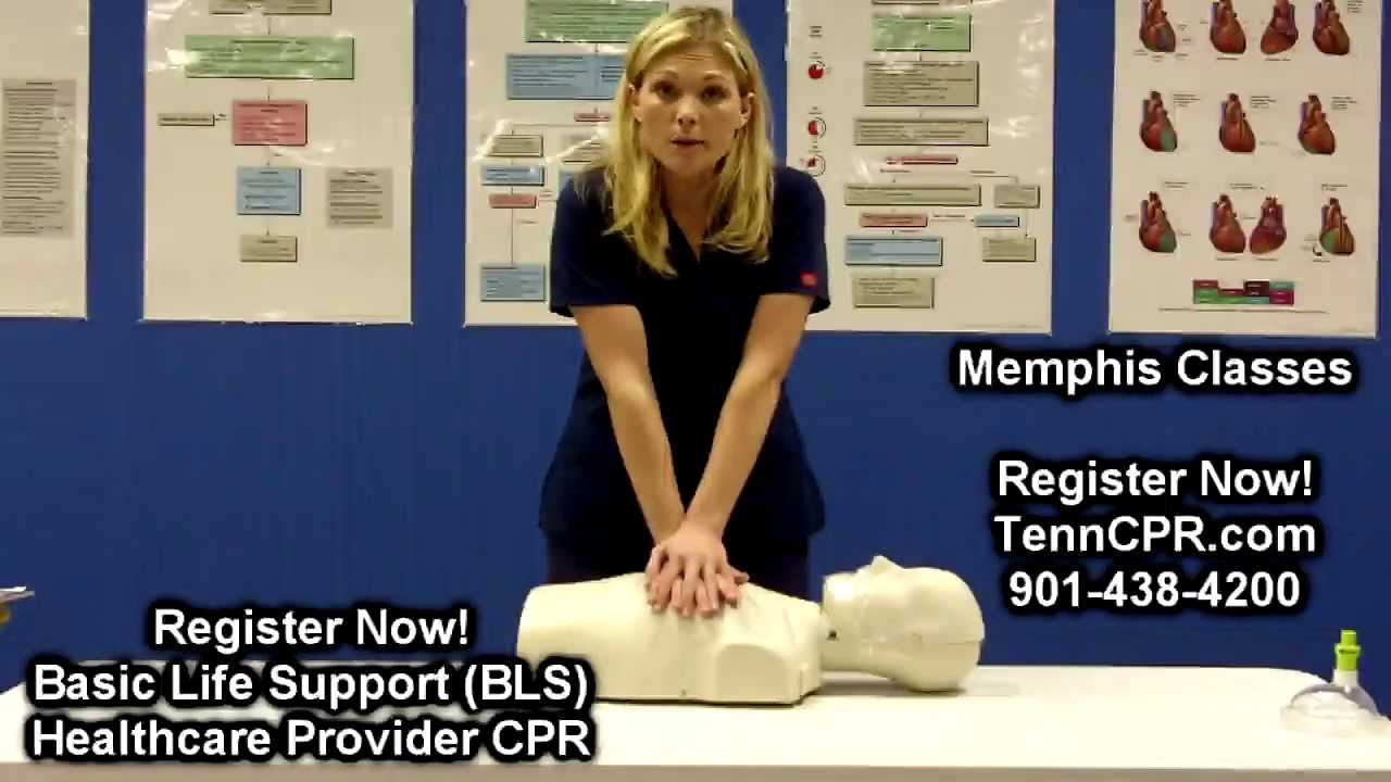 BLS CPR for Memphis Healthcare Providers | Nursing, Medical ...