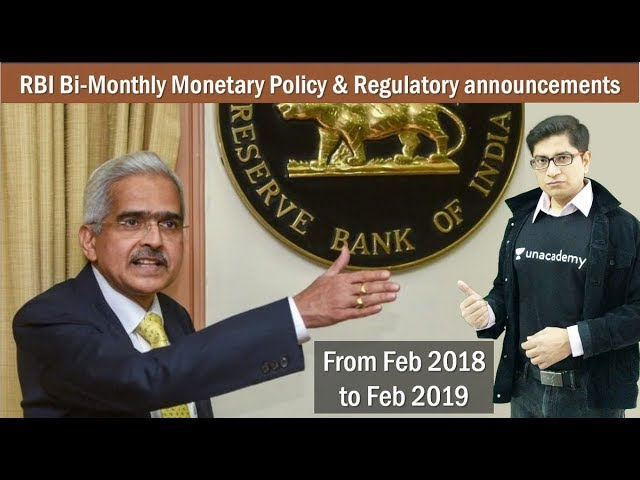 [Economy] Rapid Revision of RBI Bi-Monthly Monetary Policy in last 1 year by Mrunal