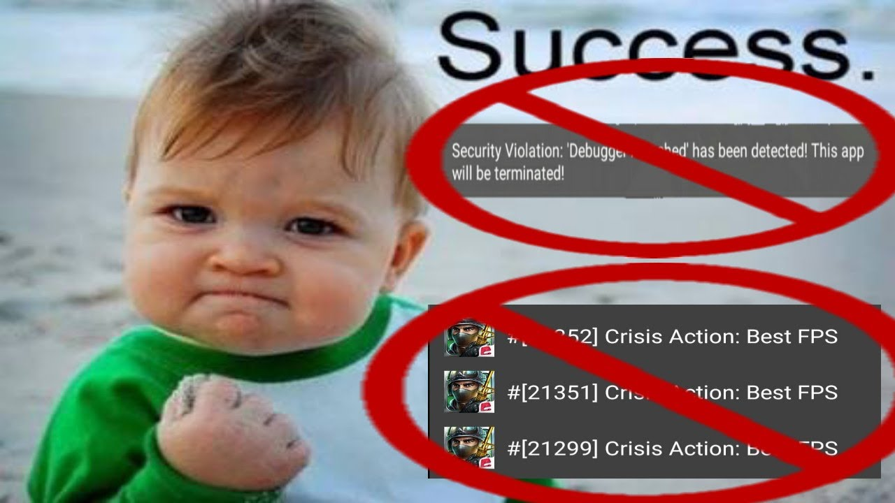Support Cheat Apk Crisis Action Youtube