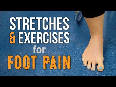 Top 3 Stretches for General Foot Pain