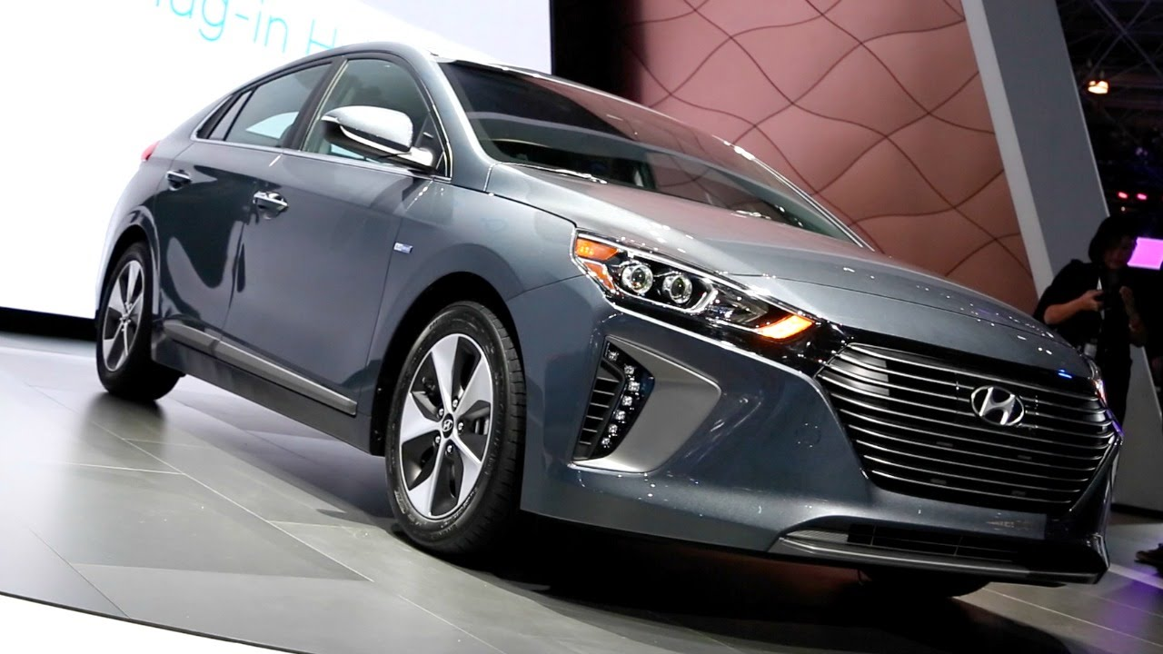 2017 hyundai ioniq  2016 new york auto show  youtube