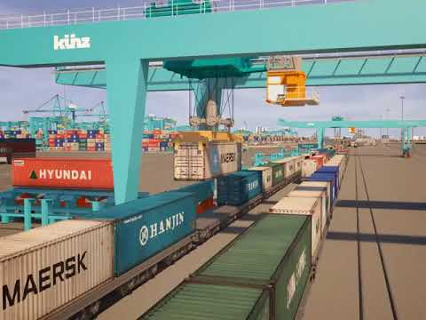 APM Terminals Maasvlakte II  Open Access Rail Terminal