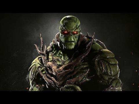Injustice 2 Swamp Thing (Болотная Тварь) - РИСОВАЛЬНЫЙ СТРИМ