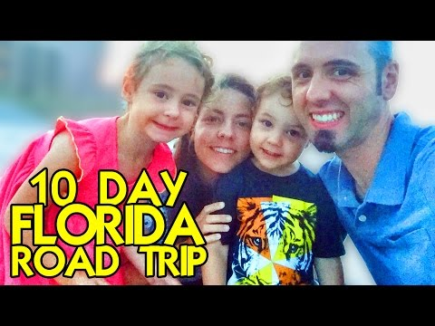10-Day Florida Road Trip with Kids | FAMILY ROAD TRIP Vacation from Louisiana to Florida