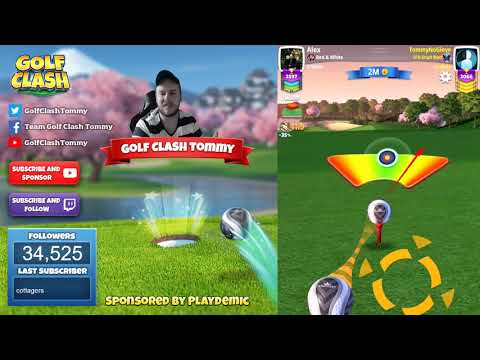 Golf Clash tips, Playthrough, Hole 1-9 - MASTER - TOURNAMENT WIND! Community Cup Tournament!