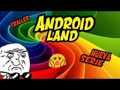 Trailer de otra nueva serie: AndroidLand
