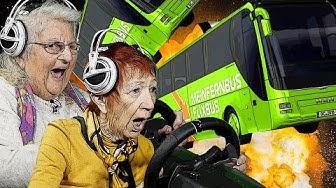 Das GROSSE Flixbus RENNEN! | Fernbus Simulator | Senioren Zocken!!!
