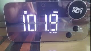블루투스 라디오 스피커 보노보스 미작 라디오 주파수