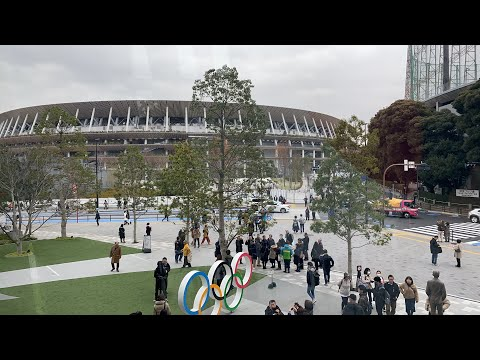Tokyo Olympic Stadium Opens To The Public
