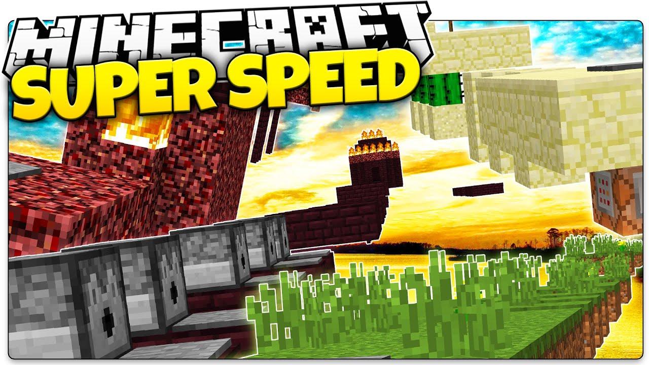 Super Speed Run Parkour Map - 12Minecraft.Net