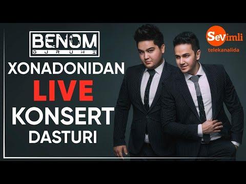 BENOM Guruhidan LIVE Konsert Dasturi! 2020