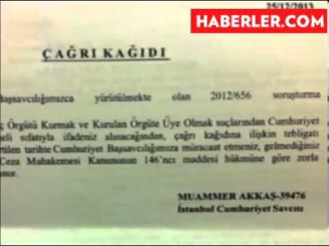 Savcı Bilal Erdoğan'ı Şüpheli Olarak İfadeye Çağırdı