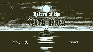 Return Of The Obra Dinn - A Game You Really Shouldn