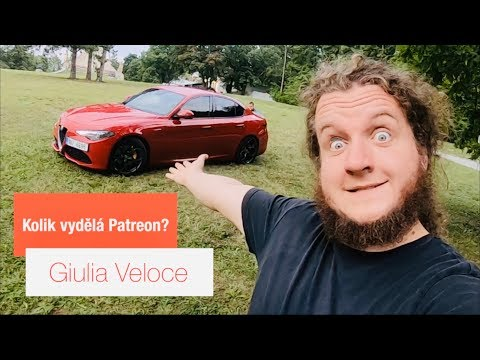 Alfa Romeo Giulia Veloce   Kolik vydělá Patreon?