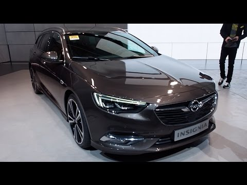 the all new 2017 opel insignia sports tourer in detail. Black Bedroom Furniture Sets. Home Design Ideas
