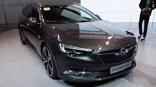 The All New 2017 Opel Insignia Sports Tourer In detail review walkaround Interior Exterior