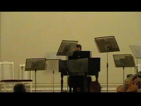 Pachelbel - «Hexachordum Apollinis» Aria secondo for cembalo (or organo phneumatico) - S.Gres