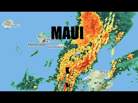 "150,000 in dark as ENTIRE island of MAUI loses power - ""Climate Chaos"""